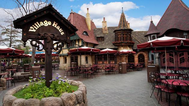 Village Haus Restaurant at Disneyland
