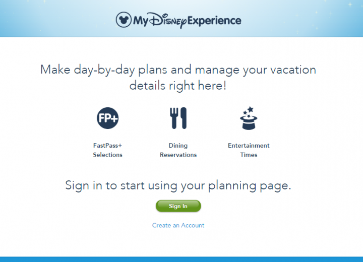 New My Disney Experience App Update Includes Dining Plan Credits!