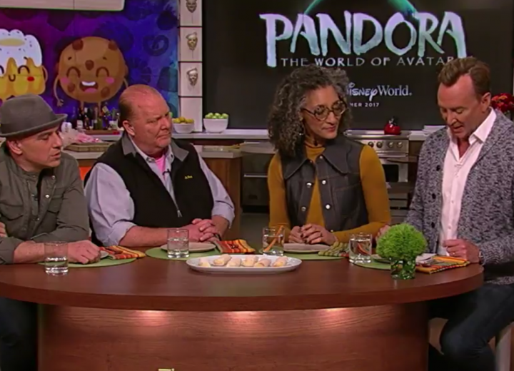 The Chew Hosts Try Snack from Pandora – The World of Avatar