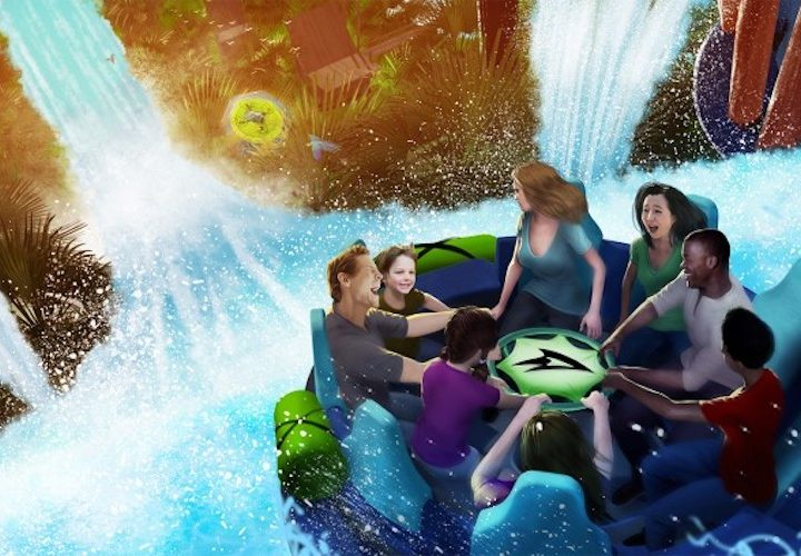 Brand New River Rapids Attraction Coming to SeaWorld Orlando in 2018!