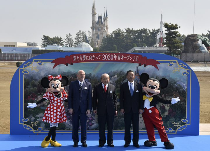 Tokyo Disney Resort Breaks Ground on Beauty and the Beast & Big Hero 6 Expansions