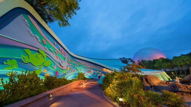 Exterior to The Seas with Nemo and Friends at Epcot