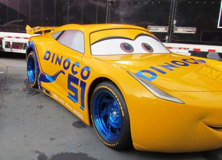 Cruz Ramirez Star of Cars 3 is Coming to Disney's Hollywood Studios