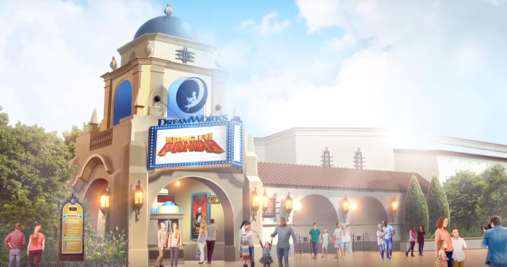 DreamWorks Animation Theatre concept art