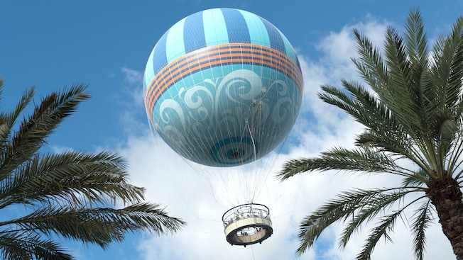 Characters in Flight Gets a Name Change at Disney Springs