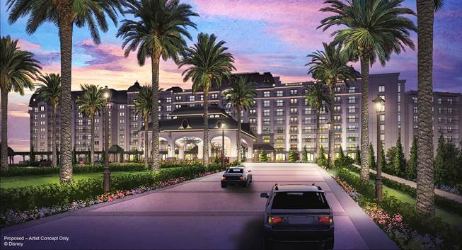 Disney Announces New Vacation Club Hotel in Epcot Area