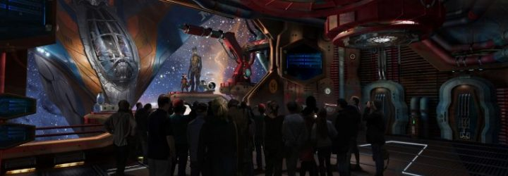 Guardians of the Galaxy Attraction is Confirmed as Roller Coaster at Epcot