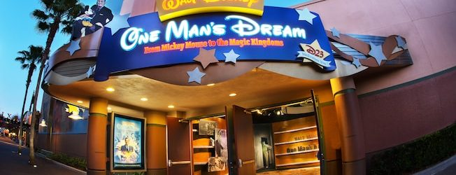 One Man's Dream Being Replaced with Walt Disney Presents Preview Center