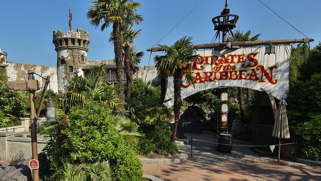 Watch the Brand New Redhead Scene from Pirates of the Caribbean at Disneyland Paris