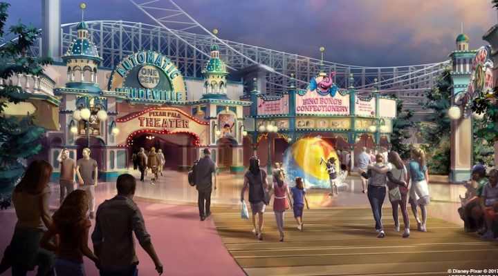 Paradise Pier Changing to  Pixar Pier at Disneyland!
