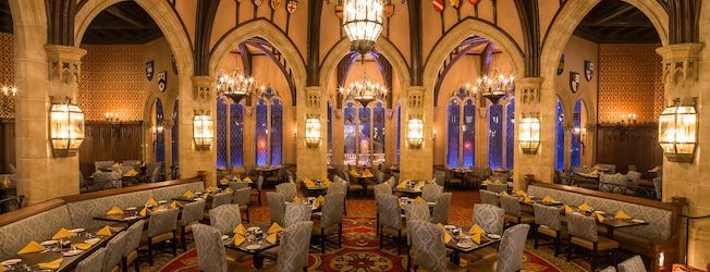 Cinderella's Royal Table Closing for Refurb in Early 2018