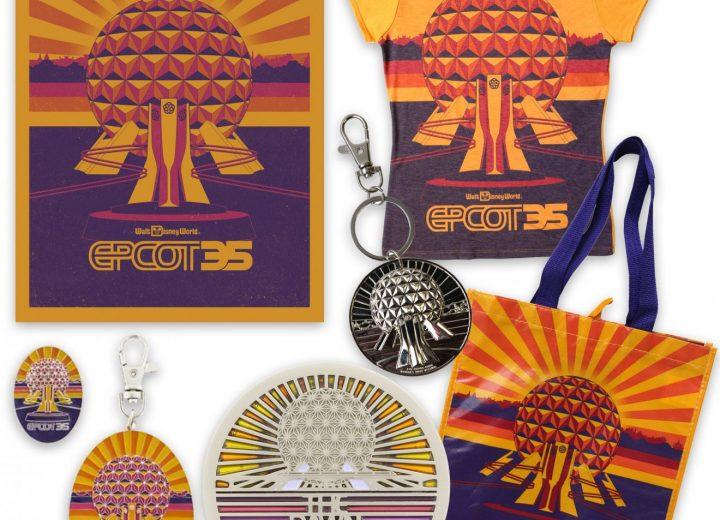 Epcot 35th Anniversary Merchandise Revealed!