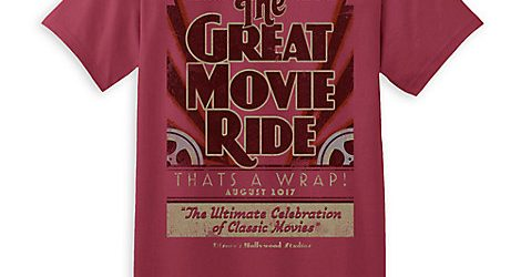 Say Goodbye to Great Movie Ride & Universe of Energy with Limited Release T-shirts