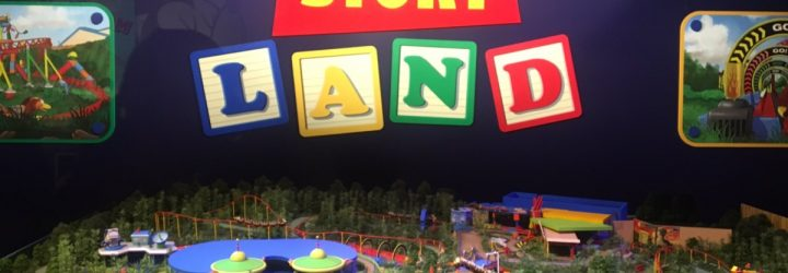 Awesome Images of the Toy Story Land Model from Walt Disney Presents