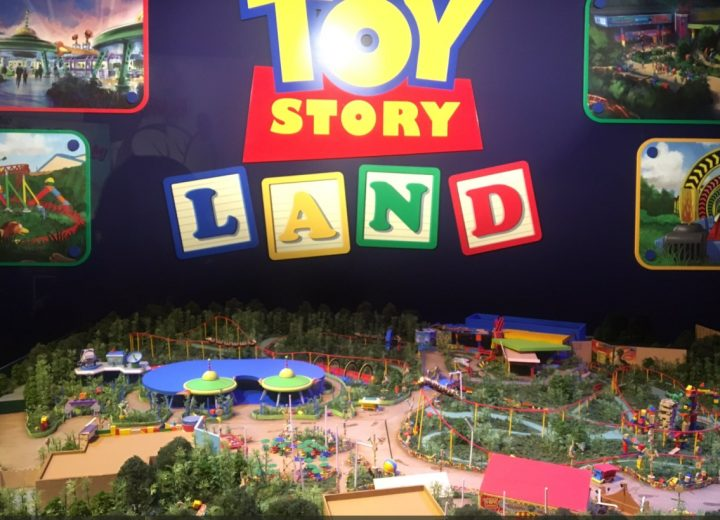 Go Behind The Scenes of Toy Story Land in WDW and Shanghai Disneyland