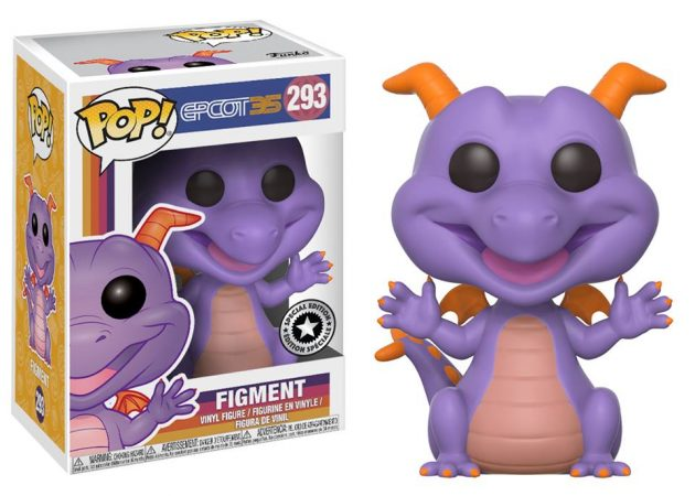 Figment Pop Revealed for Epcot's 35th Anniversary Celebration!