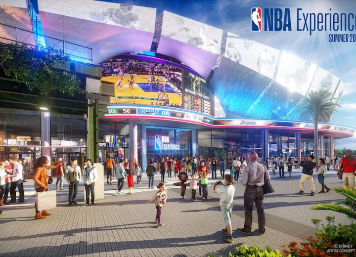 Disney Unveil Concept Art for NBA Experience at Disney Springs