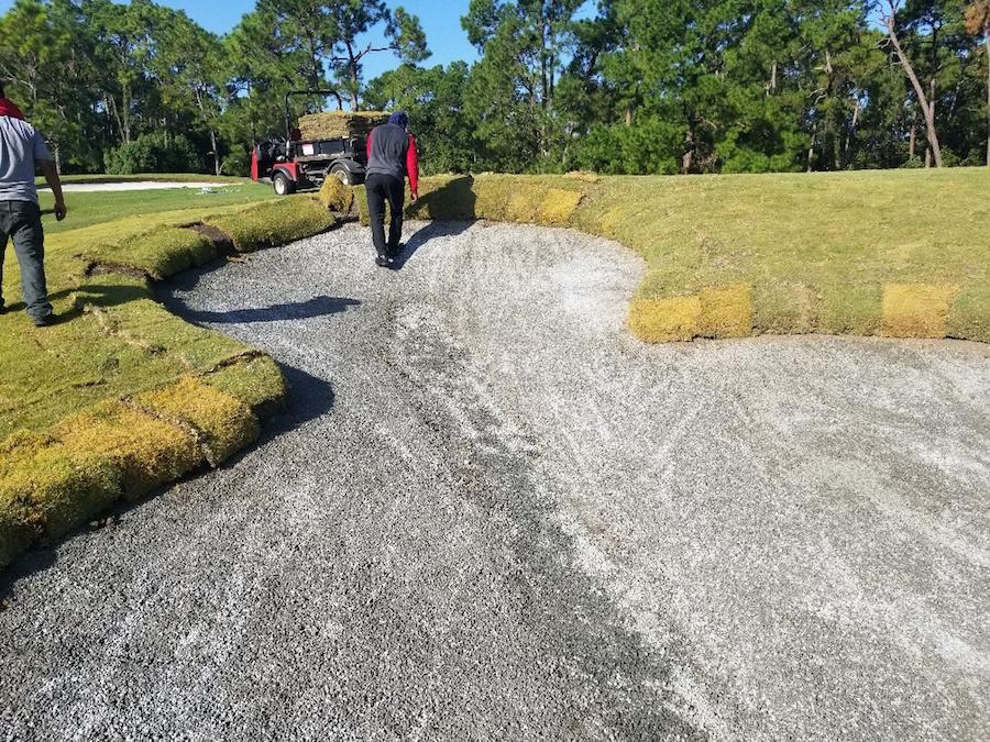 Disneys Magnolia Golf Course Mickey Bunker Renovation