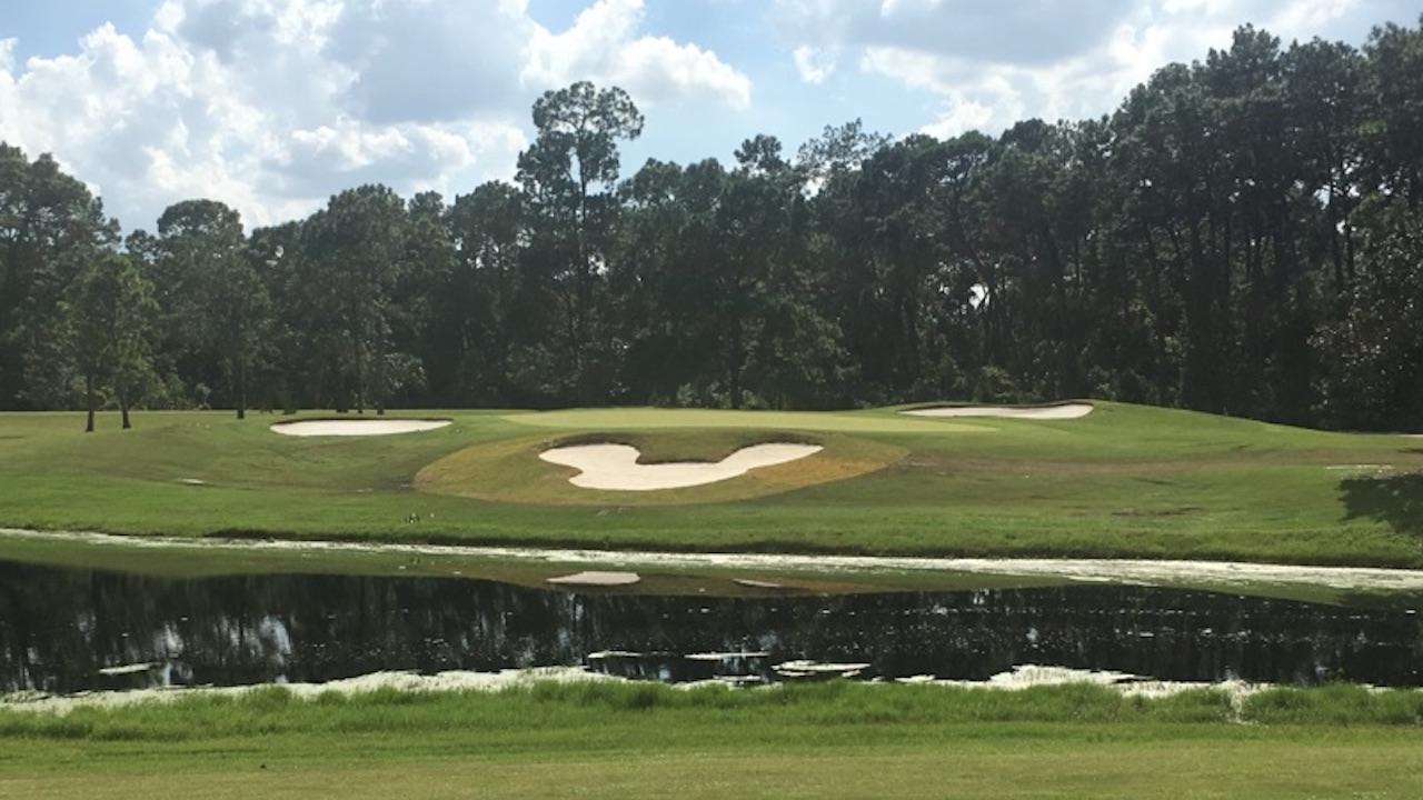 Disney's Magnolia Golf Course Mickey Bunker