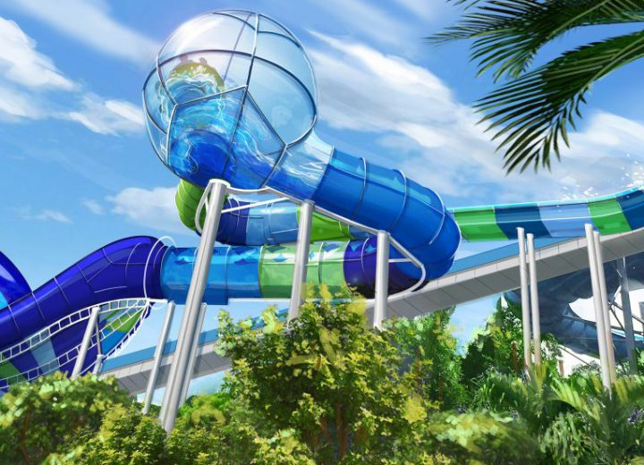 A Brand New Family Raft Slide is Coming to Aquatica in 2018