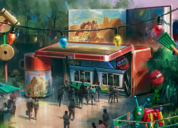 Woody's Lunch Box Quick Service Location Coming to Toy Story Land