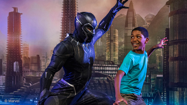 Black Panther Meeting Guests in Disney's California Adventure Starting 2018