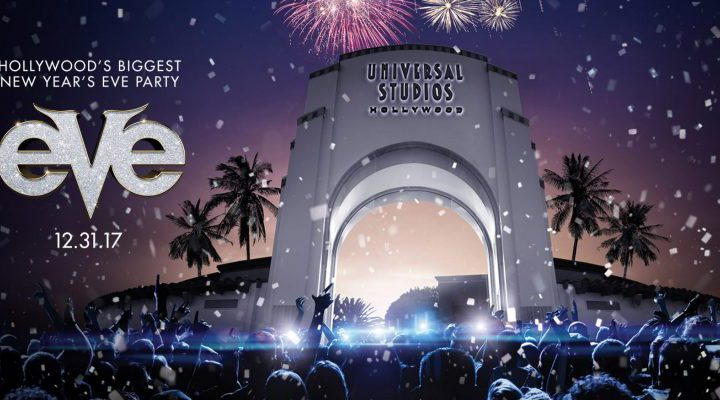 Universal Studios Hollywood Hosting EVE Party for First Time!