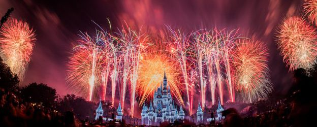 Relive the New Years Eve Celebration at Magic Kingdom