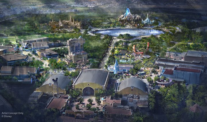 Walt Disney Studios Getting Marvel, Star Wars and Frozen Expansions!