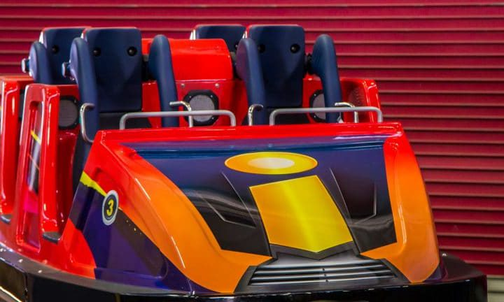 Take a Look at the Incredicoaster Cars Coming to Disneyland