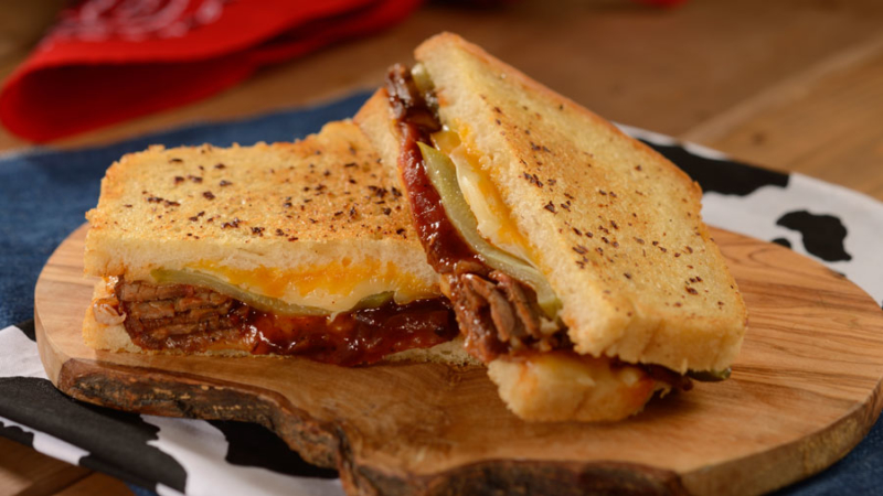 Woody's Lunch Box BBQ Brisket Melt