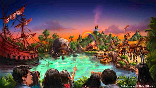Huge Expansion Coming to Tokyo DisneySea