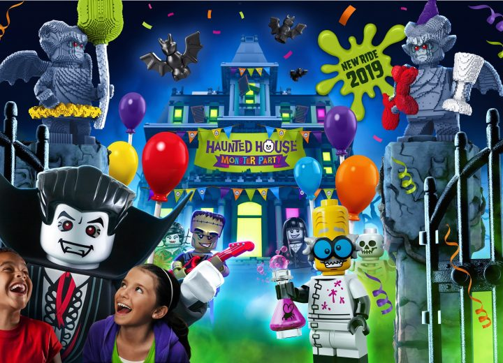 The Haunted House Monster Party Opening at LEGOLAND Windsor with Smelly Twist