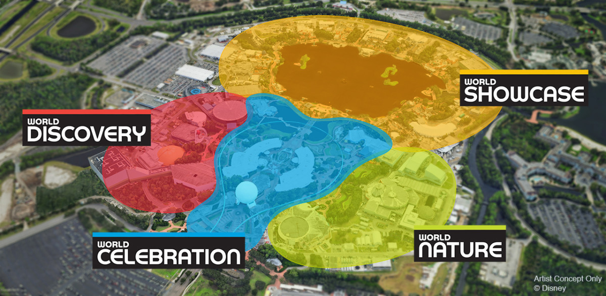 Epcot's new neighbourhoods