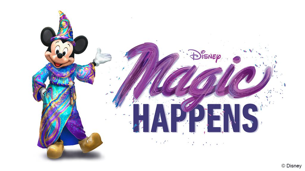 Magic Happens daytime parade at Disneyland Resort