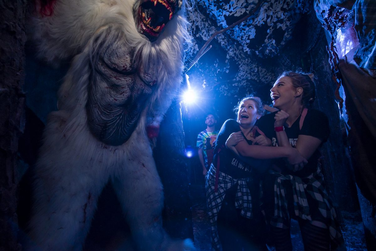 Yeti: Terror of the Yukon house at HHN29