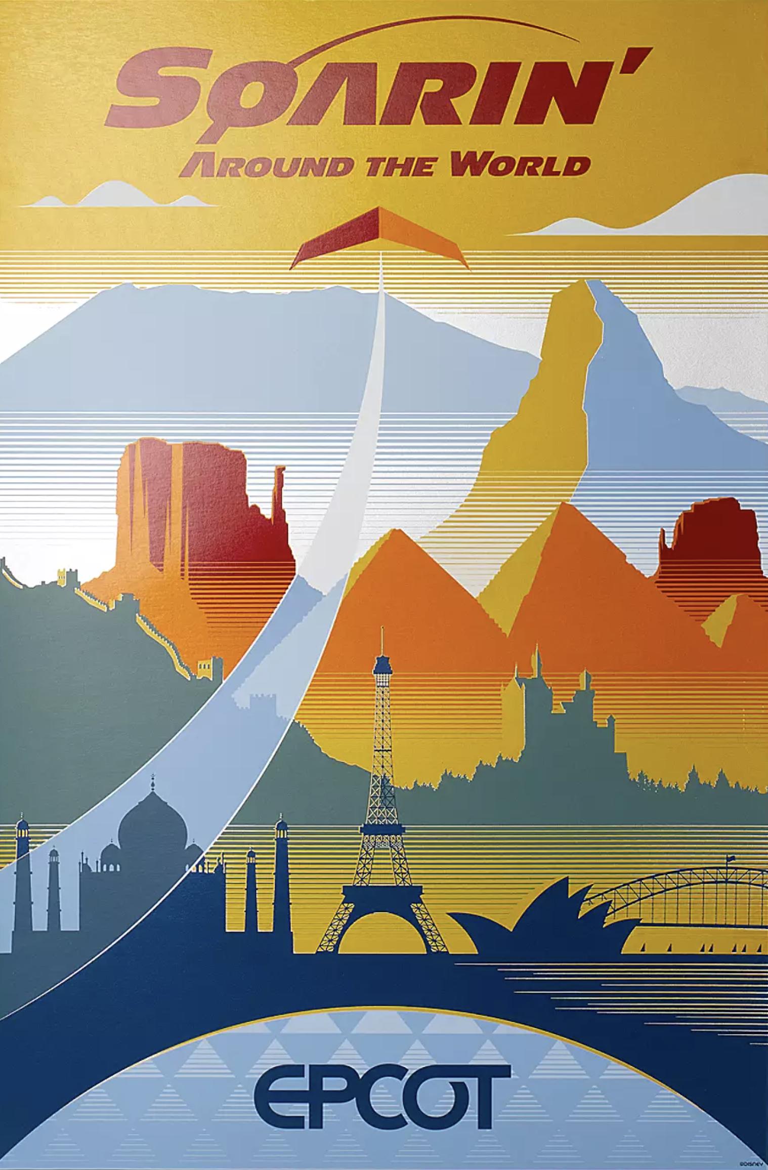 Soarin Around the World Poster