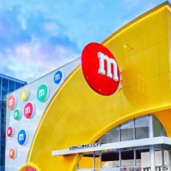 Take a Virtual Tour of Disney Spring's New M&M Store!