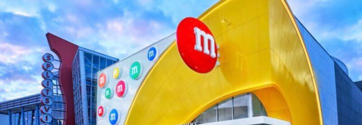 Take a Virtual Tour of Disney Spring's New M&M Store!